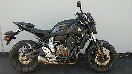 2016 Yamaha FZ-07 for sale 200576258