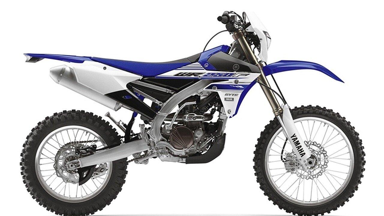 2016 Yamaha WR250F for sale 200446336