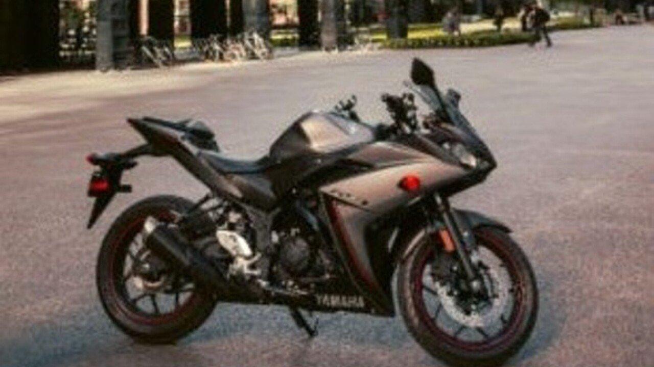2016 Yamaha YZF-R3 for sale 200482942