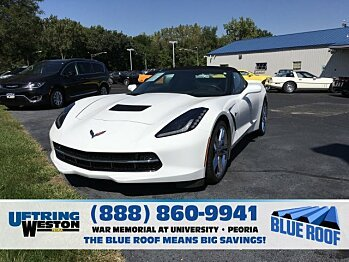 2016 chevrolet Corvette Convertible for sale 100994255