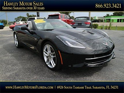 2016 chevrolet Corvette Convertible for sale 101010184