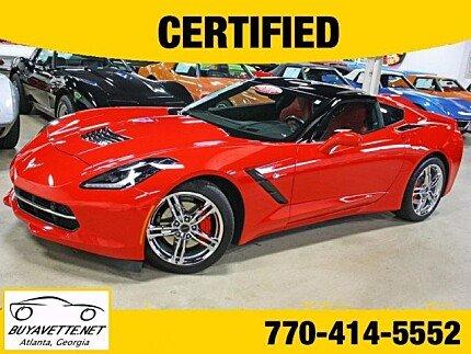 2016 chevrolet Corvette Coupe for sale 101035813