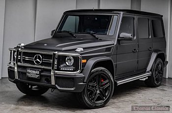 2016 mercedes-benz G63 AMG 4MATIC for sale 101026466
