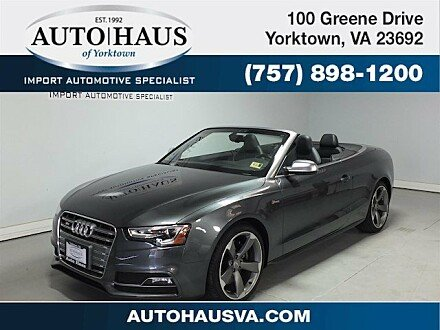 2017 Audi S5 3.0T Cabriolet for sale 100997968