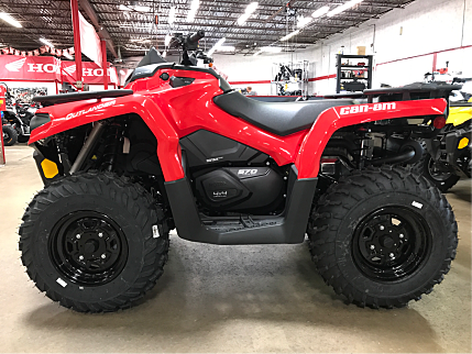 2017 Can-Am Outlander 570 for sale 200419087