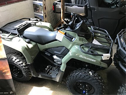 2017 Can-Am Outlander 570 for sale 200501676
