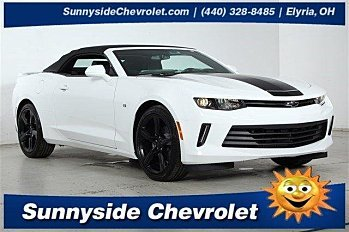 2017 Chevrolet Camaro LT Convertible for sale 100791086