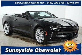 2017 Chevrolet Camaro LT Convertible for sale 100791087