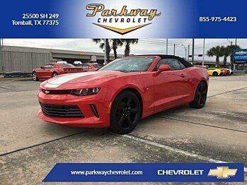 2017 Chevrolet Camaro LT Convertible for sale 100791103