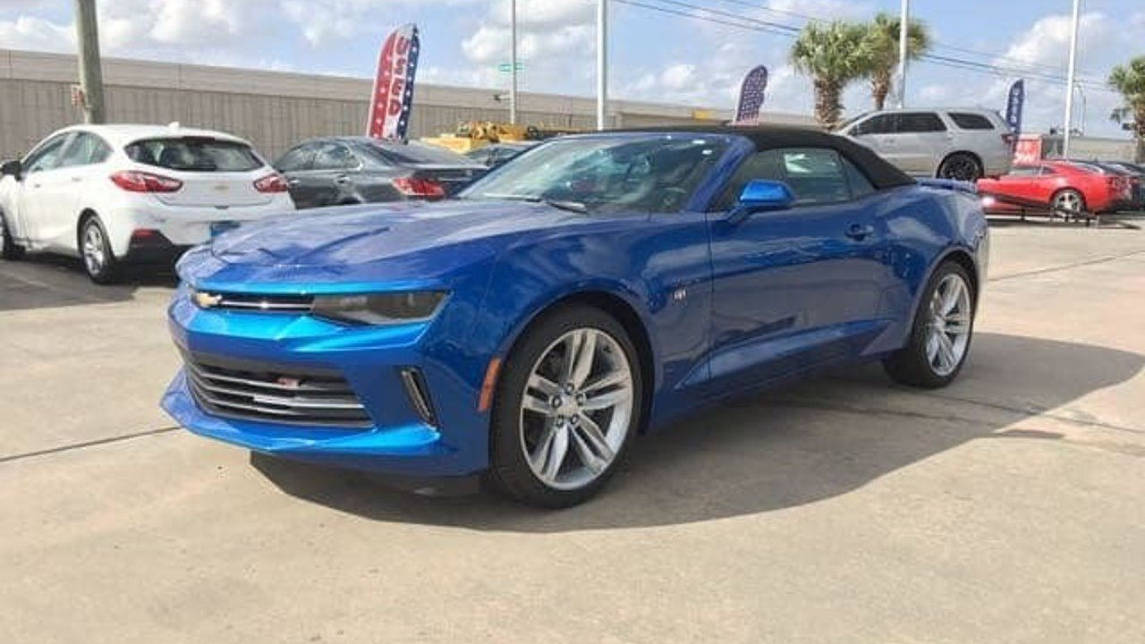 2017 Chevrolet Camaro LT Convertible for sale 100815927