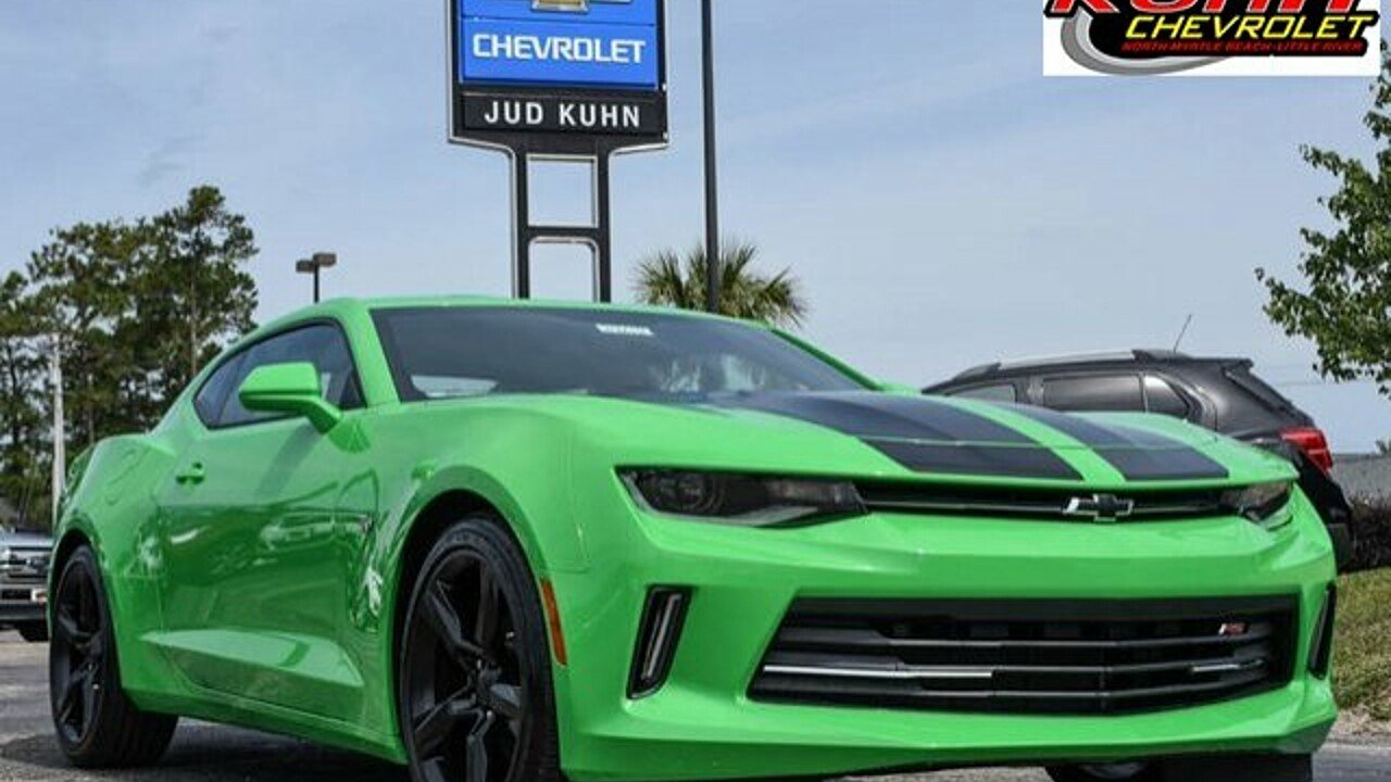 2017 Chevrolet Camaro LT Coupe for sale 100873288