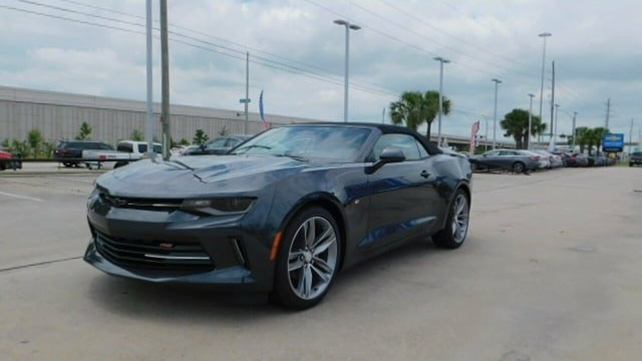 2017 Chevrolet Camaro LT Convertible for sale 100875604