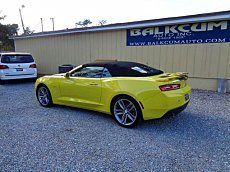 2017 Chevrolet Camaro LT Convertible for sale 100946233