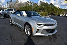 2017 Chevrolet Camaro LT Convertible for sale 100957827