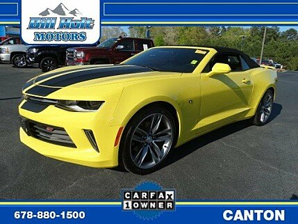2017 Chevrolet Camaro LT Convertible for sale 100976486