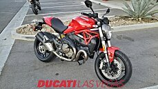 2017 Ducati Monster 821 for sale 200510016