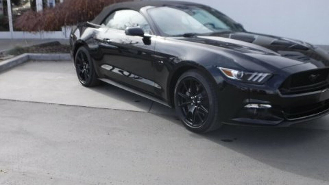 2017 Ford Mustang GT Convertible for sale 100839856