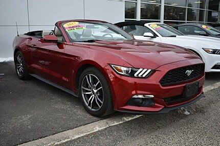 2017 Ford Mustang Convertible for sale 100968566