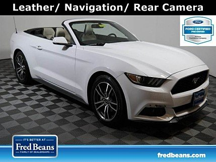 2017 Ford Mustang Convertible for sale 101005659
