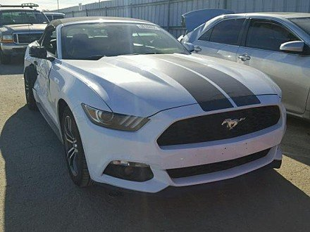 2017 Ford Mustang Convertible for sale 101043908