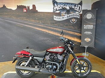 2017 Harley-Davidson Street 750 for sale 200423108