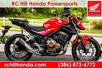 2017 Honda CB500F ABS for sale 200532479