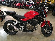 2017 Honda CB500F for sale 200501789