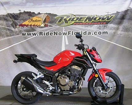 2017 Honda CB500F ABS for sale 200628005
