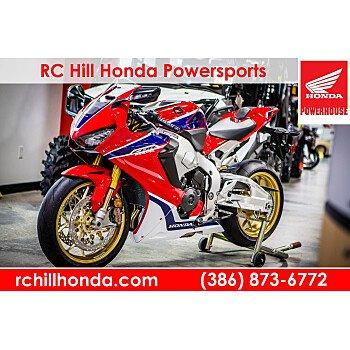 2017 Honda CBR1000RR SP for sale 200532306