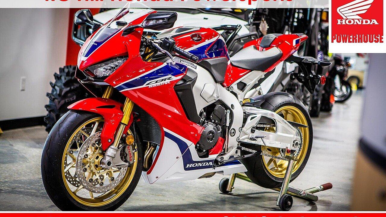 2017 Honda CBR1000RR SP for sale 200532496
