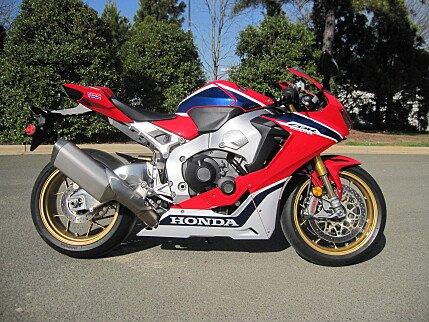 2017 Honda CBR1000RR SP for sale 200559845
