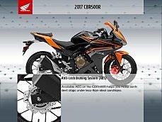 2017 Honda CBR500R for sale 200624637