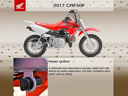2017 Honda CRF50F for sale 200502075