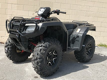2017 Honda FourTrax Foreman Rubicon 4x4 Auto DCT EPS Deluxe for sale 200639851