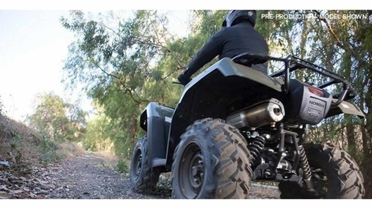 2017 Honda FourTrax Foreman for sale 200496134