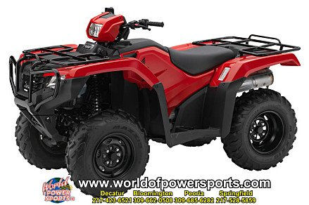 2017 Honda FourTrax Foreman 4x4 for sale 200636707