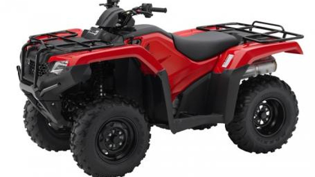 2017 Honda FourTrax Rancher 4x4 ES for sale 200381361