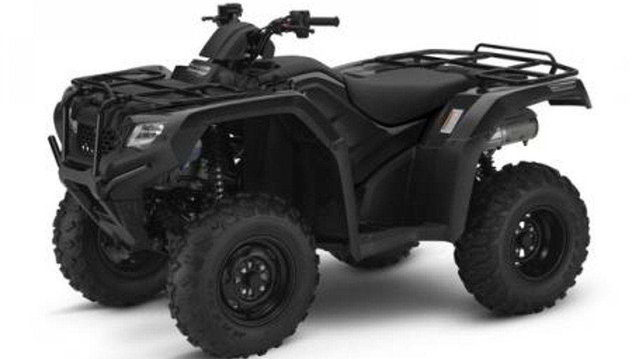 2017 Honda FourTrax Rancher 4x4 Automatic DCT IRS EPS for sale 200453169