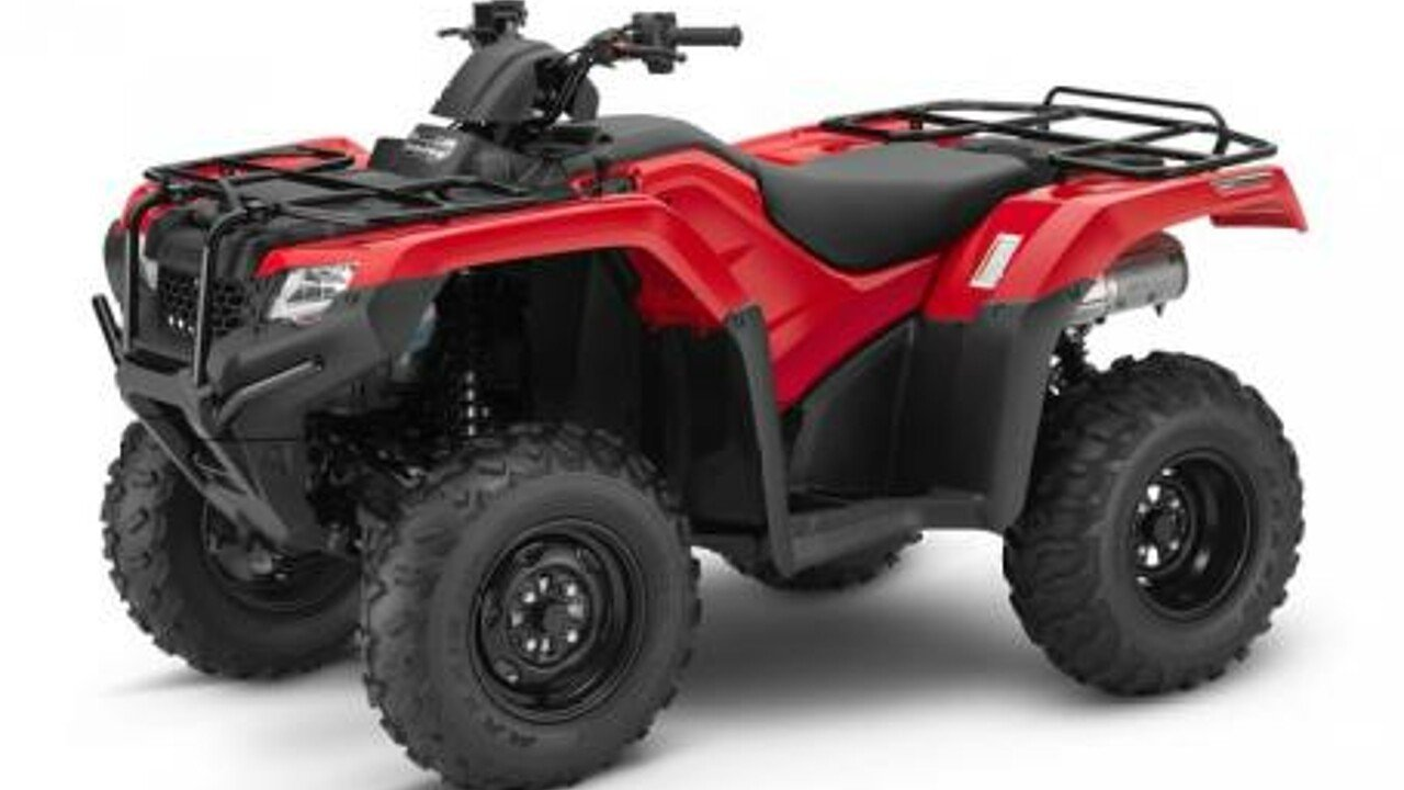 2017 Honda FourTrax Rancher 4x4 Automatic DCT IRS for sale 200453174