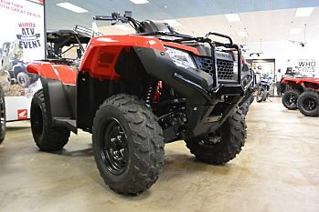 2017 Honda FourTrax Rancher 4x4 ES for sale 200487026