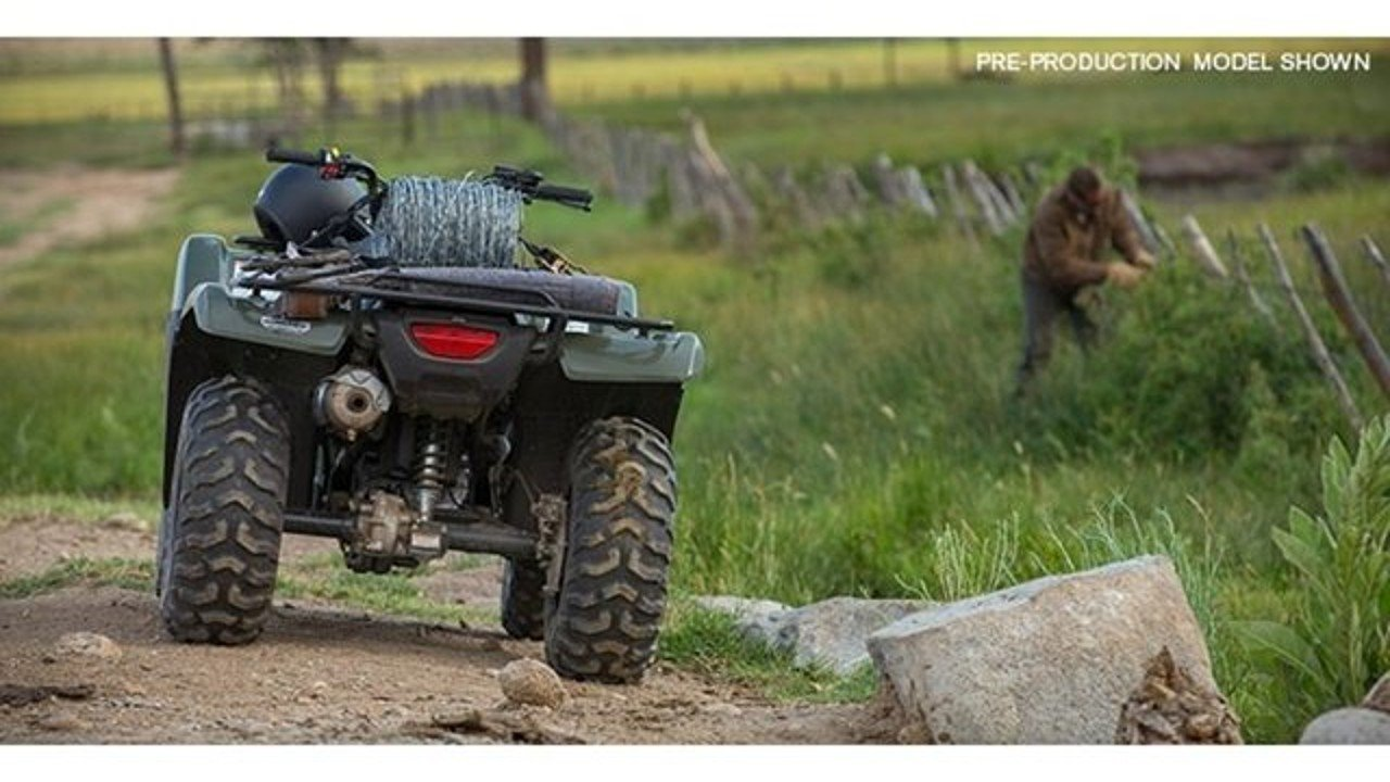 2017 Honda FourTrax Rancher for sale 200496137