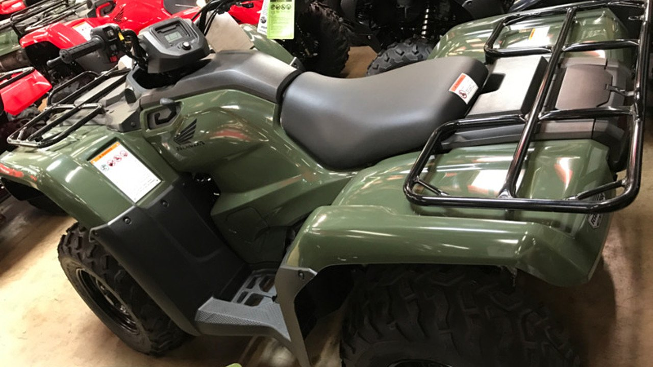 2017 Honda FourTrax Rancher for sale 200501804