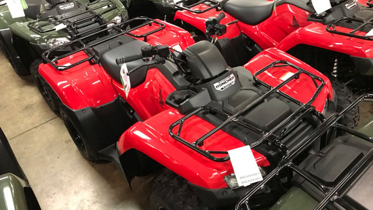 2017 Honda FourTrax Rancher for sale 200501805
