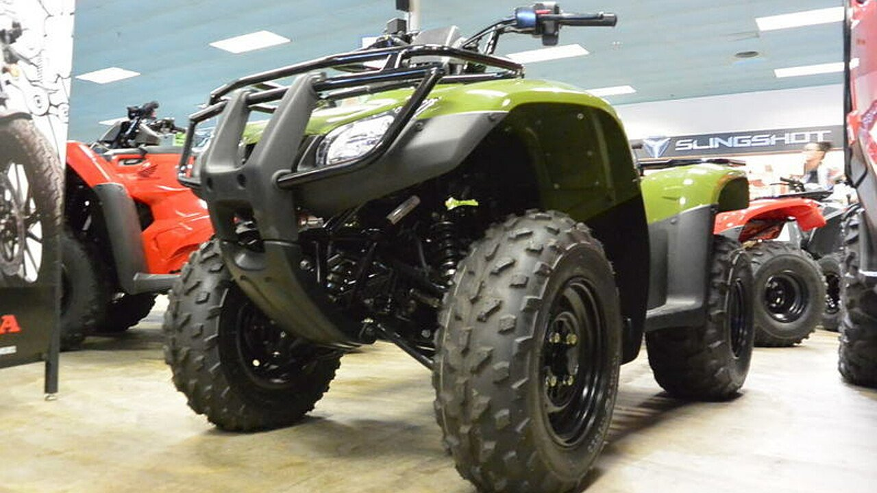 2017 Honda FourTrax Recon for sale 200486978