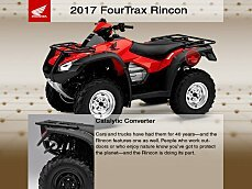 2017 Honda FourTrax Rincon for sale 200650042