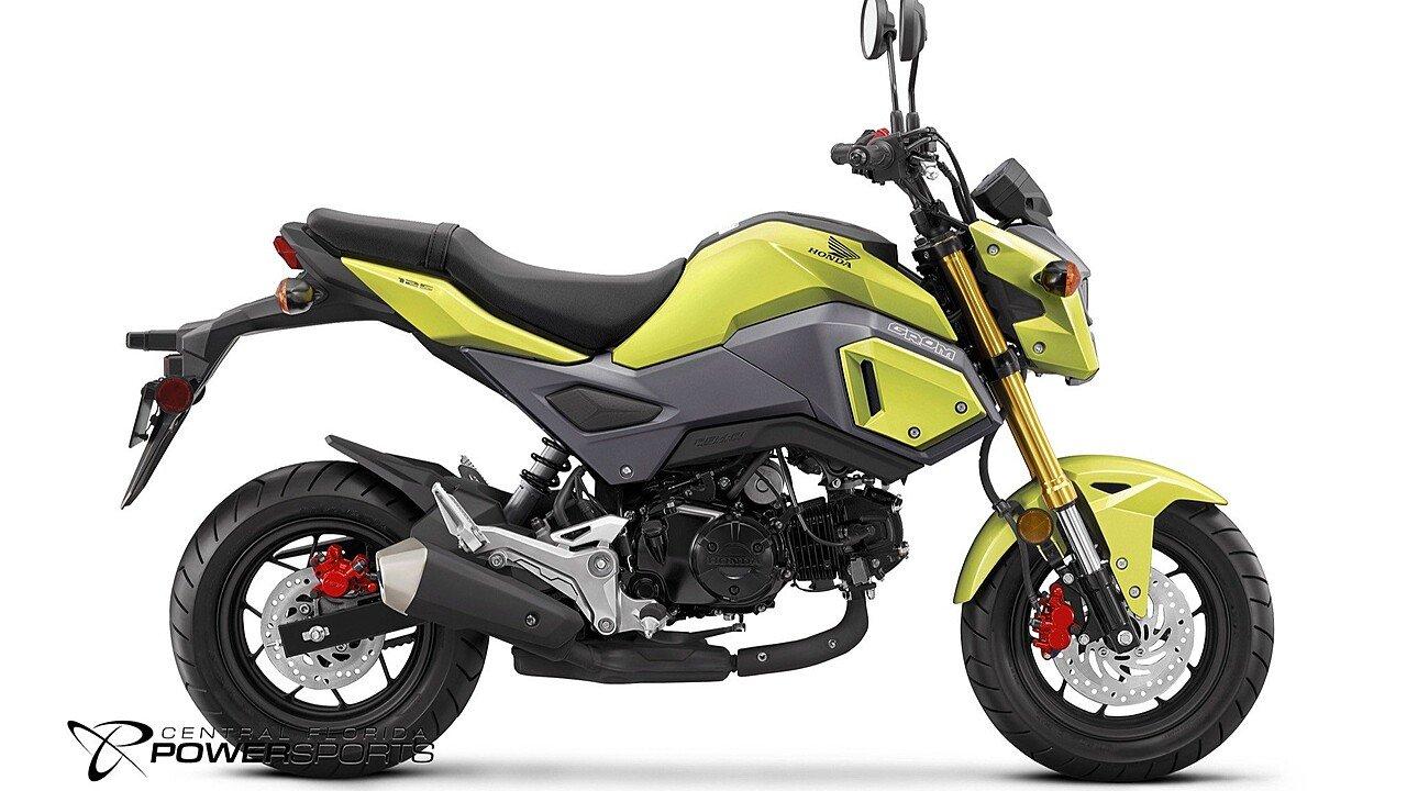 2017 Honda Grom for sale 200377724