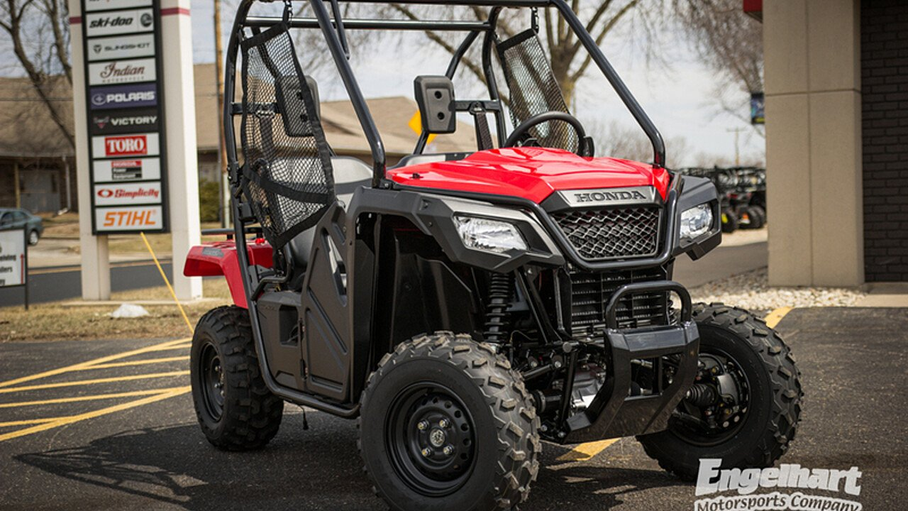 2017 Honda Pioneer 500 for sale 200582112