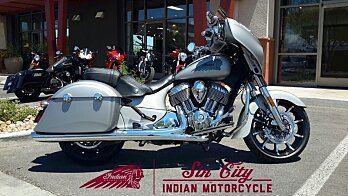 2017 Indian Chieftain Limited w/ 19 Inch Wheels & ABS for sale 200471830