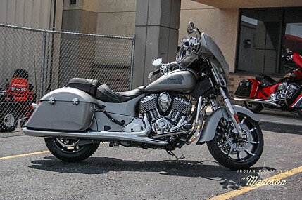 2017 Indian Chieftain Limited w/ 19 Inch Wheels & ABS for sale 200581970