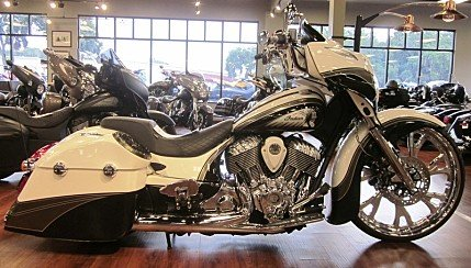 2017 Indian Chieftain Limited w/ 19 Inch Wheels & ABS for sale 200606025